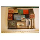 17pc Vintage Small Tobacco Tins
