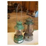 2pc UniMet & Coleman White Gas Lanterns