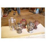 5pc Small Oil Lanterns