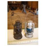 "2pc 12"" Oil Lanterns"