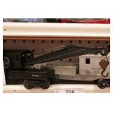 Lionel - Crane w/ caboose tender - 2pcs