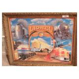Lionel -  Jigsaw puzzle W/ large Gold Frame