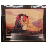 Lionel - Santa Fe Super chief - Framed print