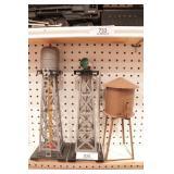 MARX - Rotating beacon, water tower & water tank