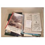 Railroad memorabilia - timetables, rule books, etc