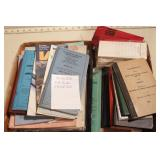 Railroad memorabilia - timetables, rule books etc