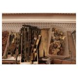 brass locomotive parts - Steam, diesel - 5 boxes