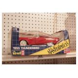 "1955 Thunderbird ""revel scale masterpieces die cas"