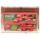 Coca Cola delivery trucks (2pcs)
