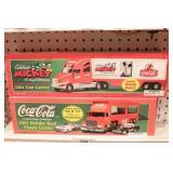 Coca-Cola Delivery truck 2pcs