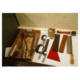 Pattern makers tools, micrometers, stones etc