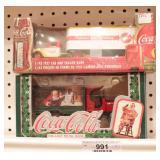 Coca Cola Delivery trucks 2pcs