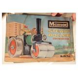 Mamod steam roller w/ box - complete