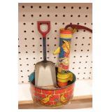 Sand pail & shovel set (3 pcs)