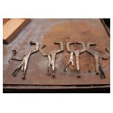 Vice Grip Clamps - 5 Pc