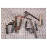 12pcs hand tools, punches brushes & knives