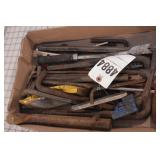 Large box of hex keys - Large and small sizes