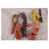 power cords and droplights 4pcs