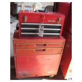 Test Rite Rolling Tool Chest & Craftsman Upper Box