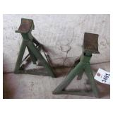 "Pair of 14"" Jack Stands - Green"