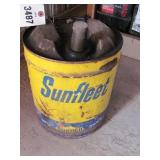 5 Gal Sonoco Sun Fleet 5 Gal Metal Can