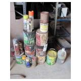 Assortment of d Paint- 5 Containers