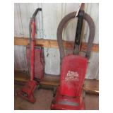 2 Dirt Devil Upright Vacuums
