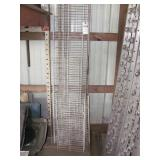 White Wire Shelving - 8 Pc