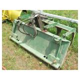 John Deere Quick Attach Loader Brush Claw