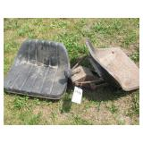 2pc Ford Suspension Seat & Pan Seat