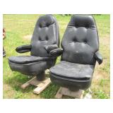 2pc Leather Automobile Bucket Seats