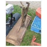 "42"" Lawn Tractor Snow Blade - Older Model"