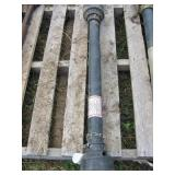 Brush Mower PTO Shaft - Black