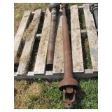 Brush Mower PTO Shaft - Metal Shroud