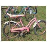 "Huffy ""Strawberry Sizzler"" bicycle"