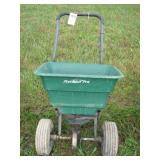 precision pro poly seed spreader