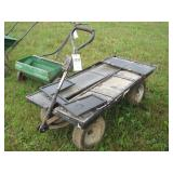 4 wheel auction cart