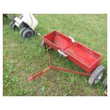 red seed drop spreader