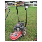 "earthquake 22"" high wheel trimmer"