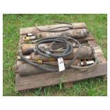 5 hydraulic cylinders approx 2
