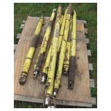 8 hydraulic cylinders approx 4