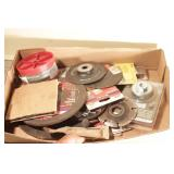 abrasives, cut offs, grinding wheels etc