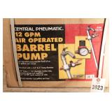 12gpm air operated barrel pump (NIP)