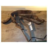 leather safety/climbing harness