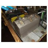Kennedy tool box w/ electrical connectors