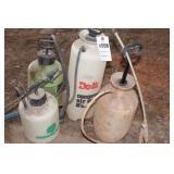 4pc Pump Up Garden Sprayers