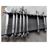 Craftsman SAE open end wrenches