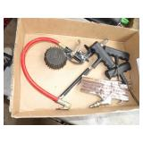 air chucks, tire guages & tire plug tools