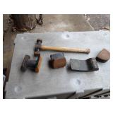 Body dollies & body hammer