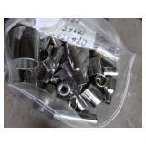 assortment of craftsman mixed metric sockets